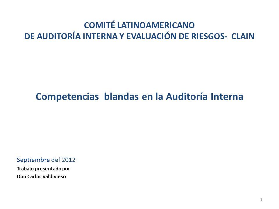 Competencias blandas en la Auditoría Interna