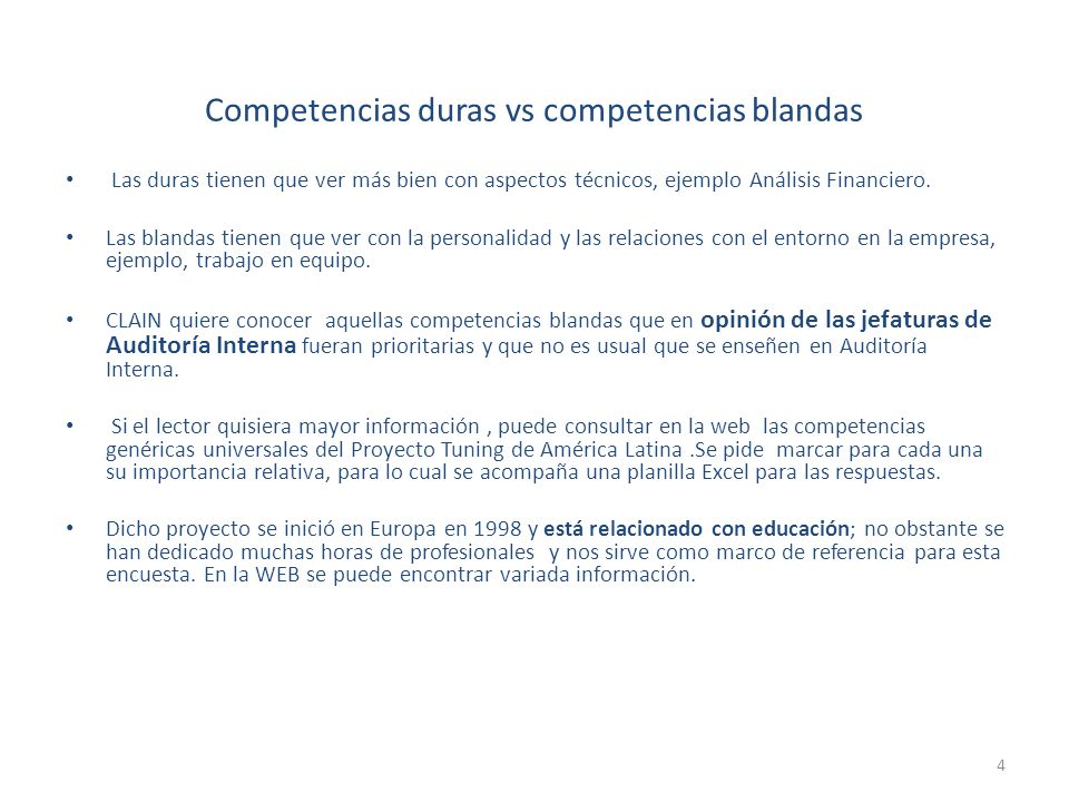 Competencias duras vs competencias blandas