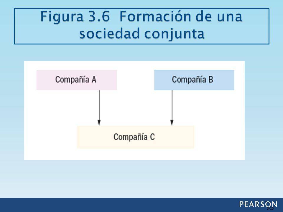 Figura 3.6 Formación de una sociedad conjunta