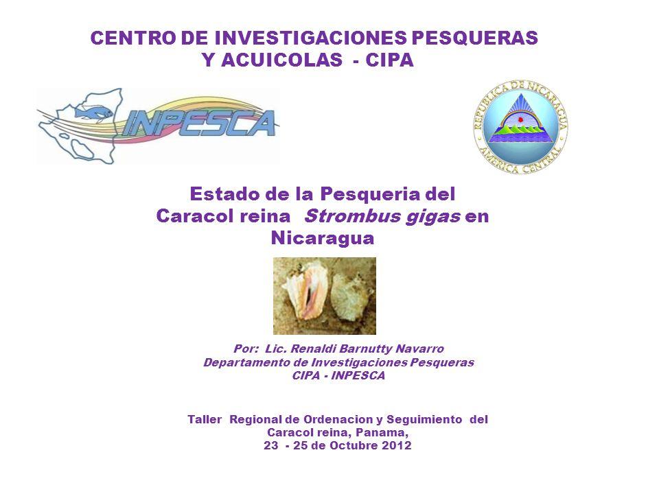 CENTRO DE INVESTIGACIONES PESQUERAS Y ACUICOLAS - CIPA