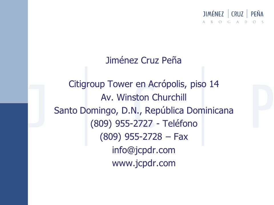 Citigroup Tower en Acrópolis, piso 14 Av. Winston Churchill