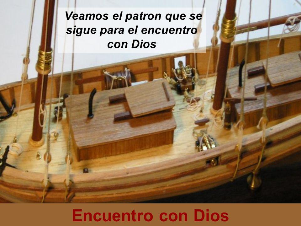 Veamos el patron que se sigue para el encuentro con Dios