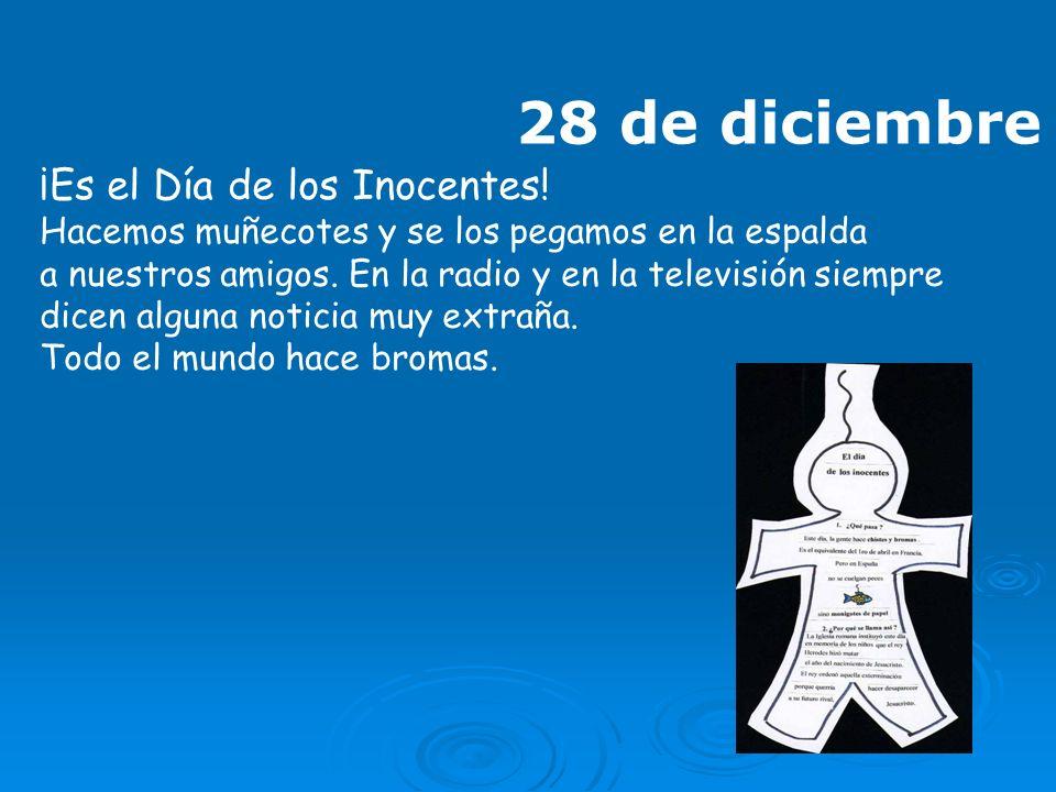 28 de diciembre ¡Es el Día de los Inocentes!