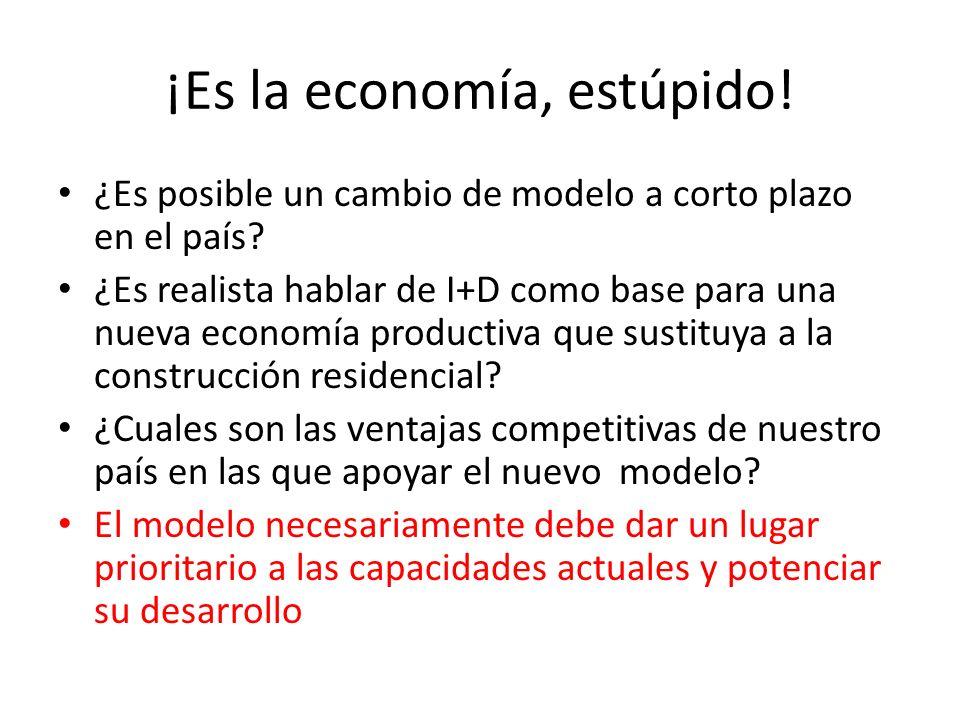 ¡Es la economía, estúpido!