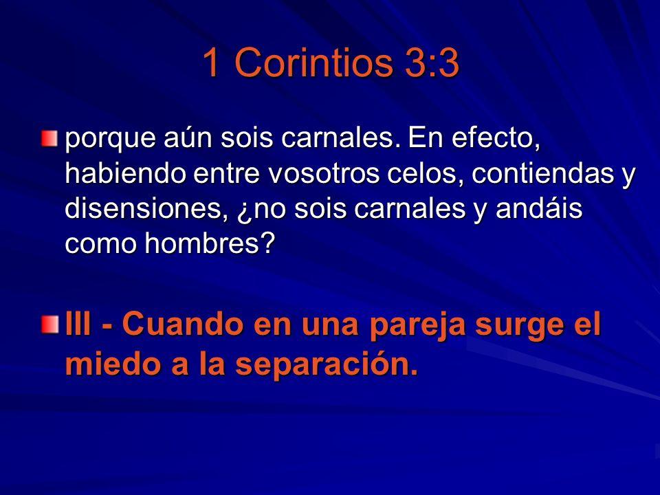 1 Corintios 3:3