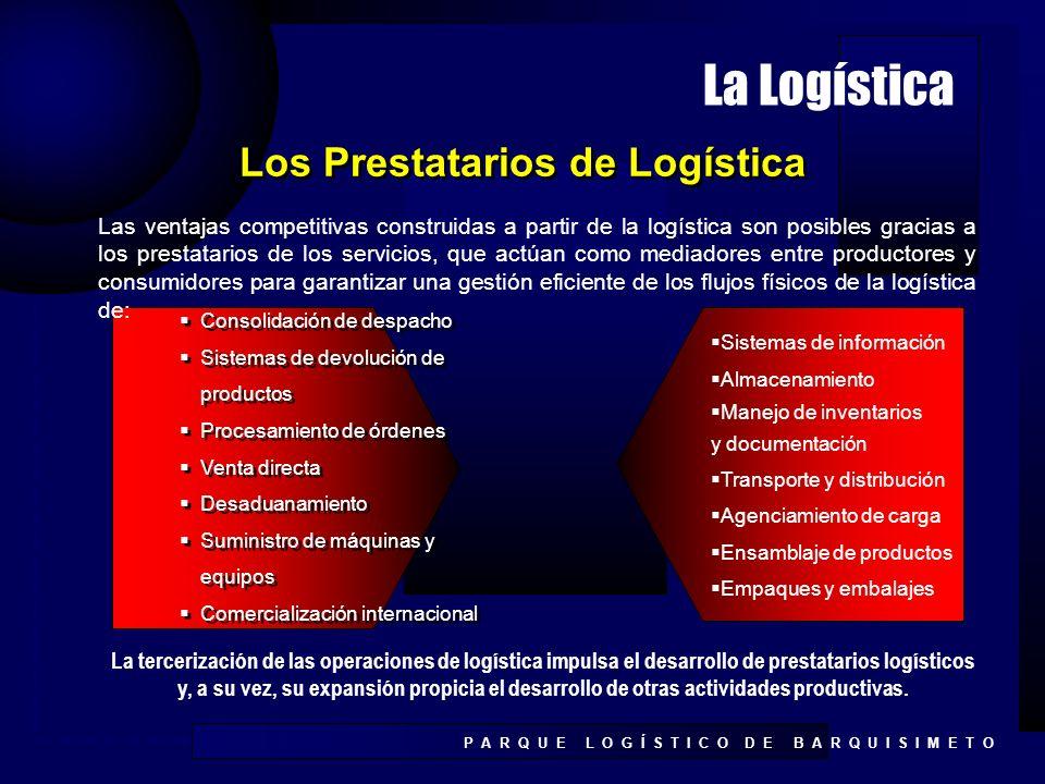 Los Prestatarios de Logística