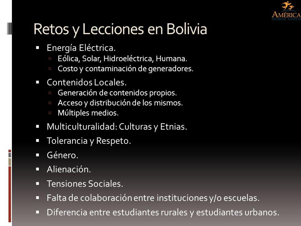 Retos y Lecciones en Bolivia