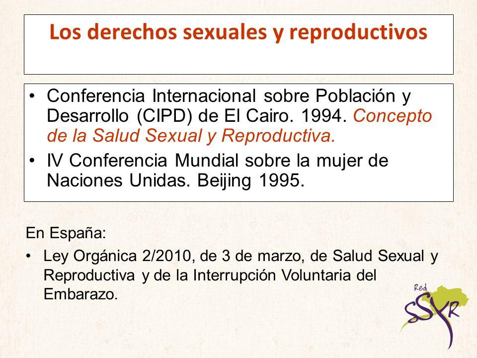 Los derechos sexuales y reproductivos