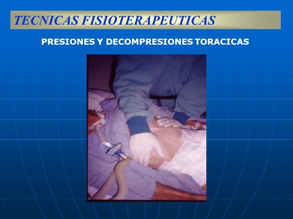 PRESIONES Y DECOMPRESIONES TORACICAS