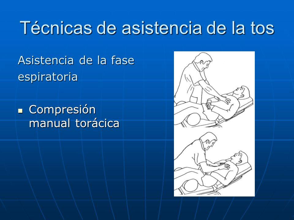 Técnicas de asistencia de la tos