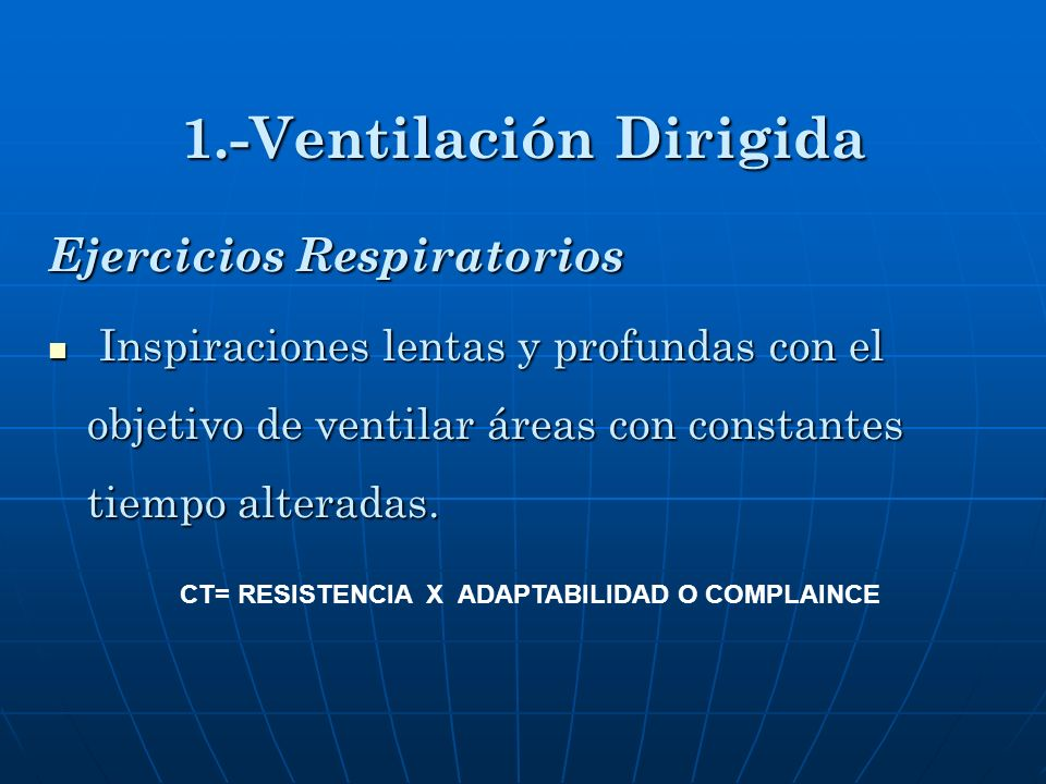1.-Ventilación Dirigida