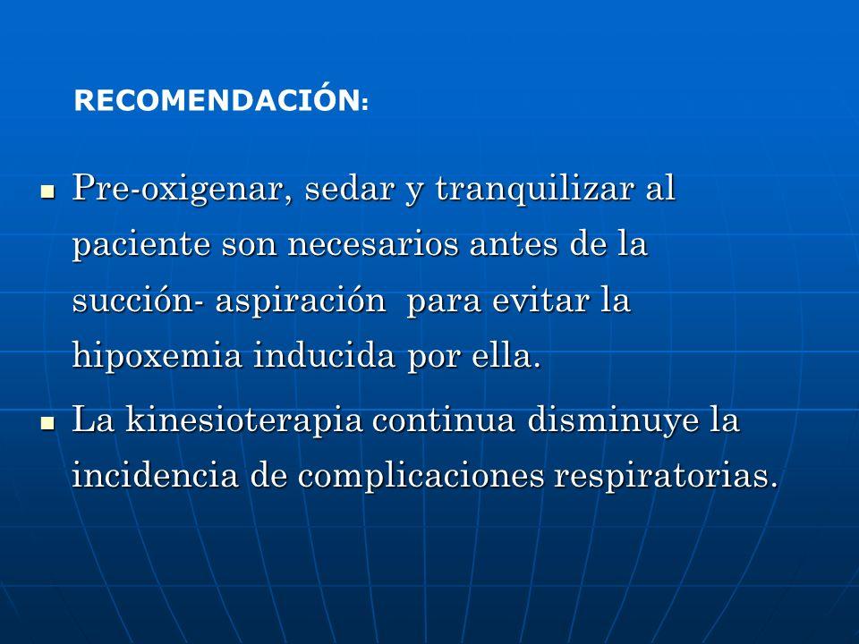 RECOMENDACIÓN: