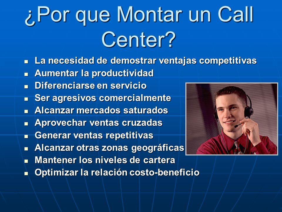¿Por que Montar un Call Center