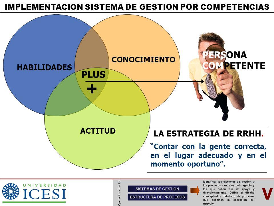 IMPLEMENTACION SISTEMA DE GESTION POR COMPETENCIAS