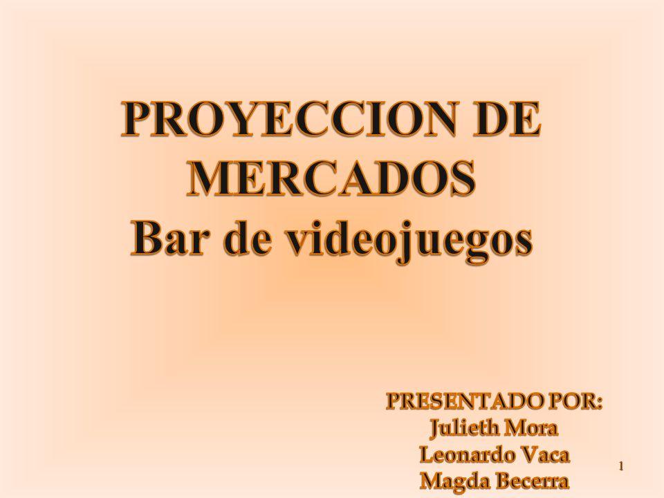 PROYECCION DE MERCADOS