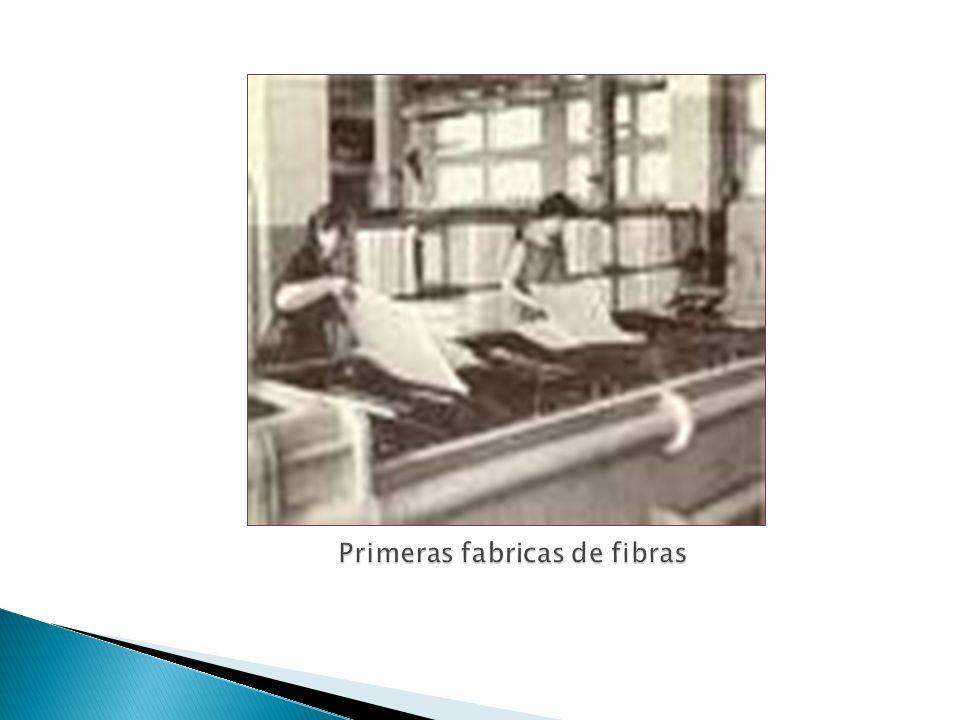Primeras fabricas de fibras