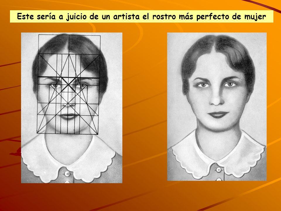 Este sería a juicio de un artista el rostro más perfecto de mujer