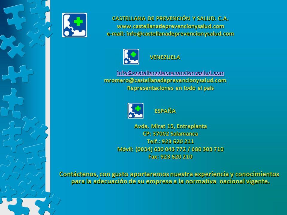 Representaciones en todo el país Avda. Mirat 15, Entreplanta