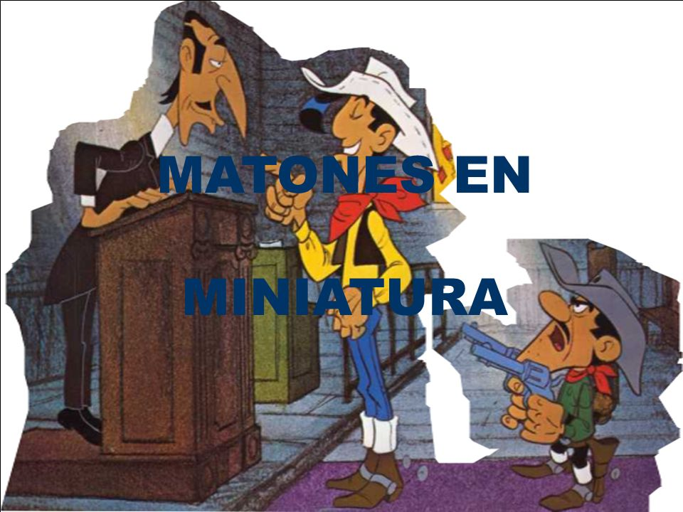 MATONES EN MINIATURA