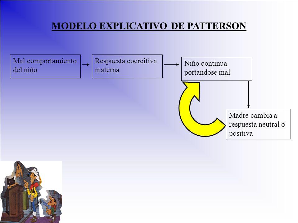 MODELO EXPLICATIVO DE PATTERSON