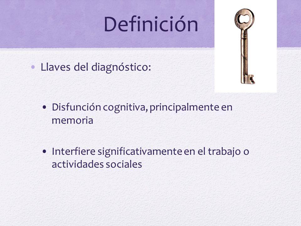 Definición Llaves del diagnóstico: