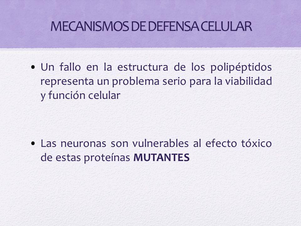 MECANISMOS DE DEFENSA CELULAR