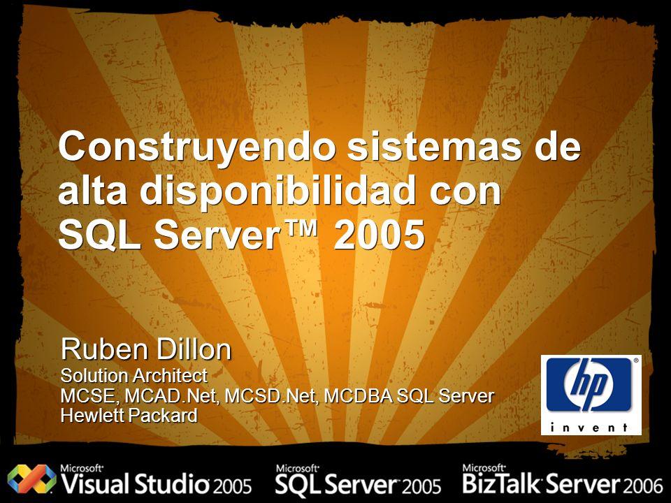Construyendo sistemas de alta disponibilidad con SQL Server™ 2005