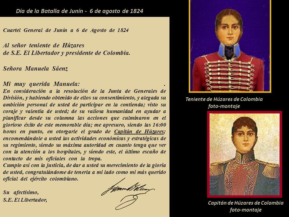 Día de la Batalla de Junín - 6 de agosto de 1824