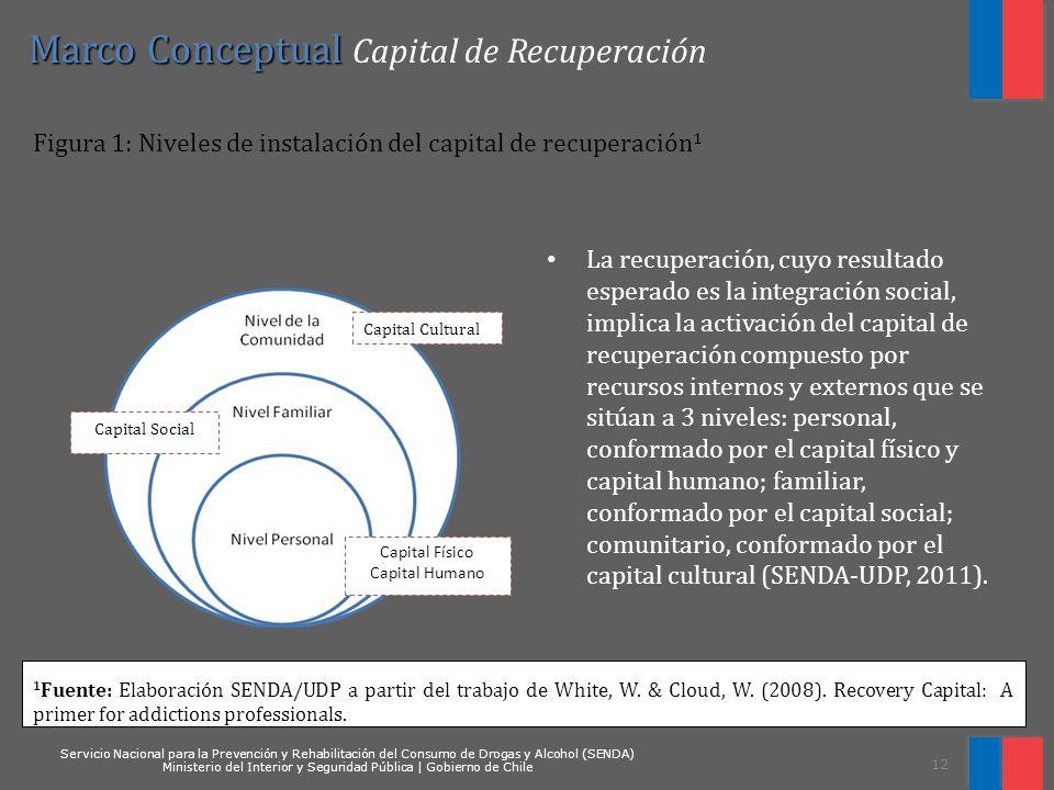 Marco Conceptual Capital de Recuperación