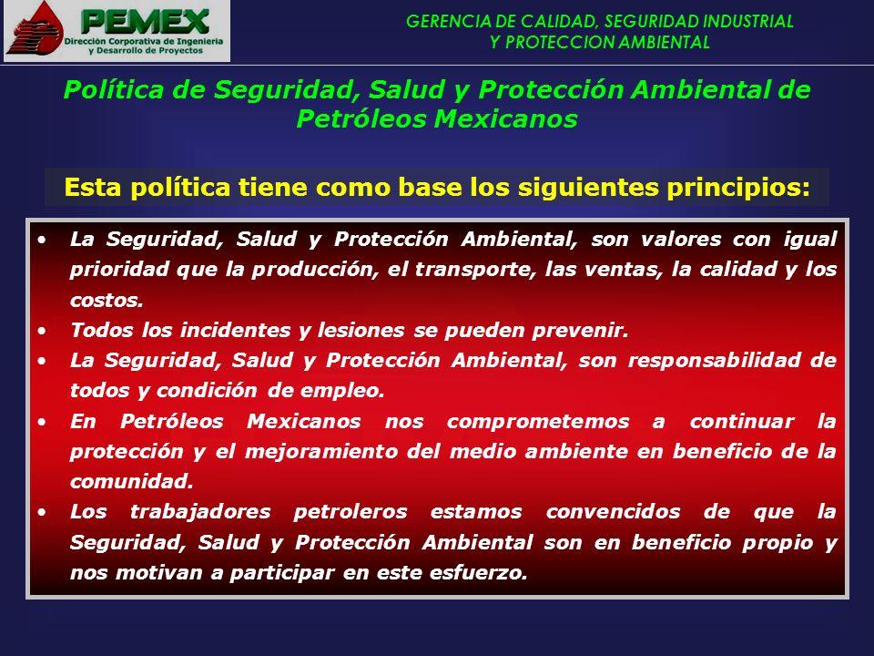 Esta política tiene como base los siguientes principios: