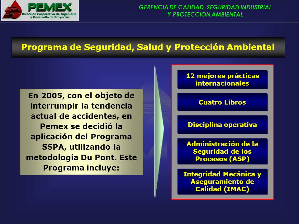 Programa de Seguridad, Salud y Protección Ambiental