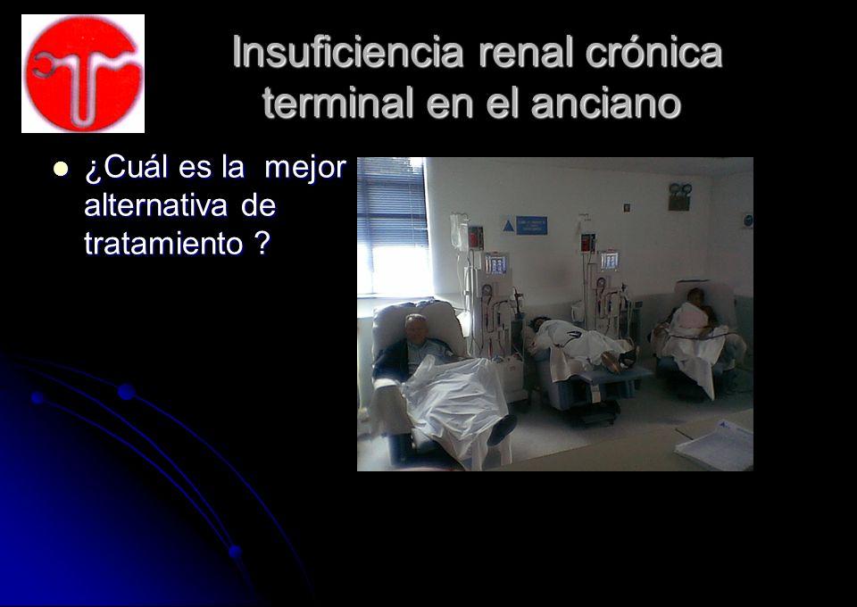 Insuficiencia renal crónica terminal en el anciano