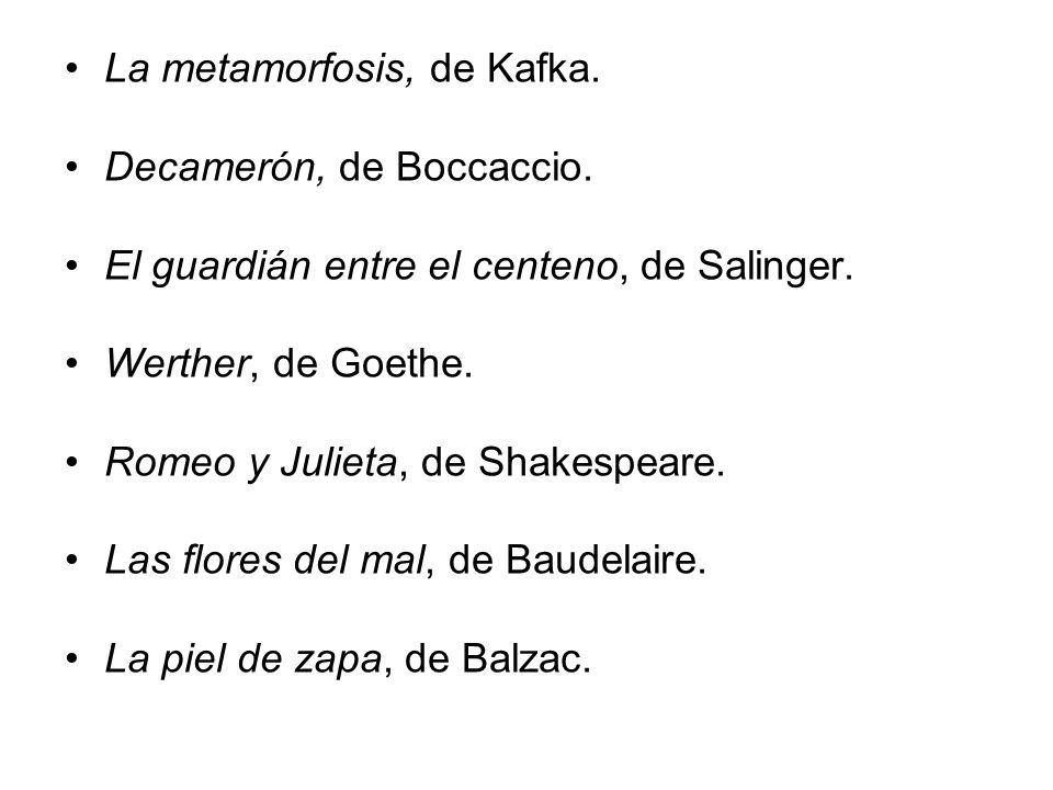La metamorfosis, de Kafka.