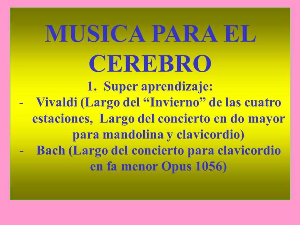Bach (Largo del concierto para clavicordio en fa menor Opus 1056)