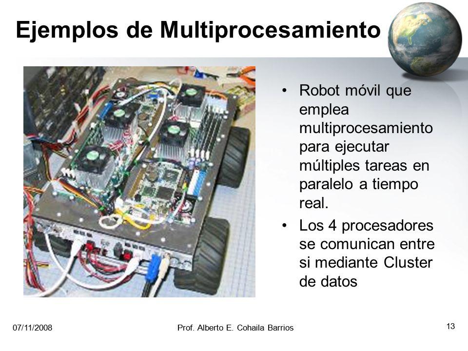 Ejemplos de Multiprocesamiento