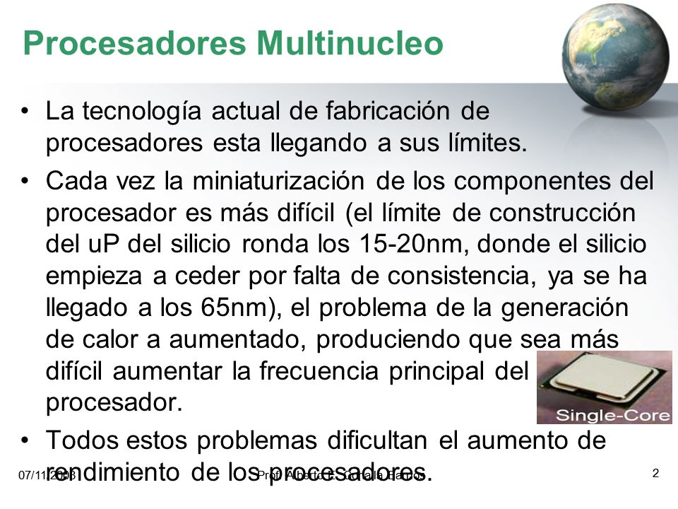 Procesadores Multinucleo