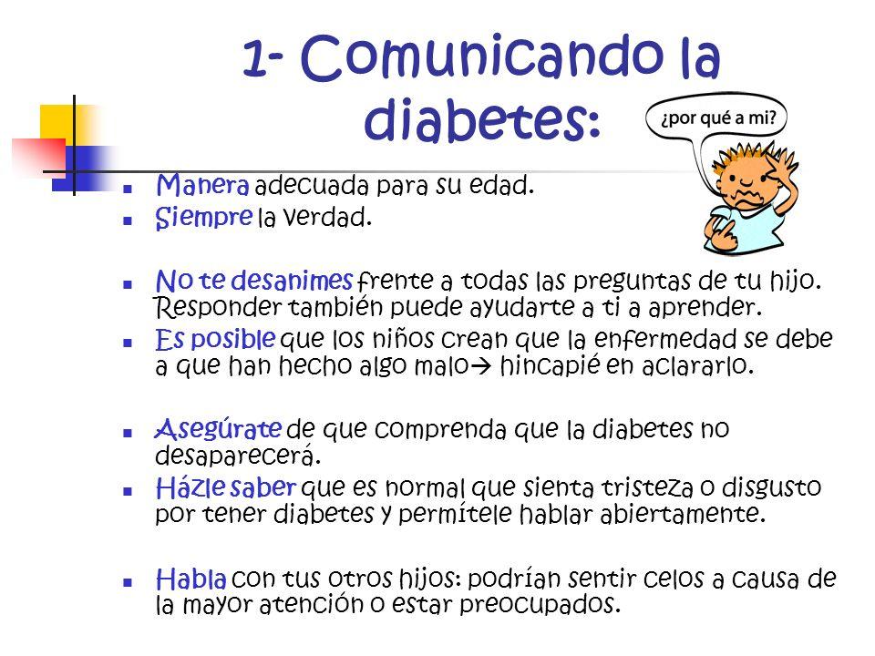 1- Comunicando la diabetes: