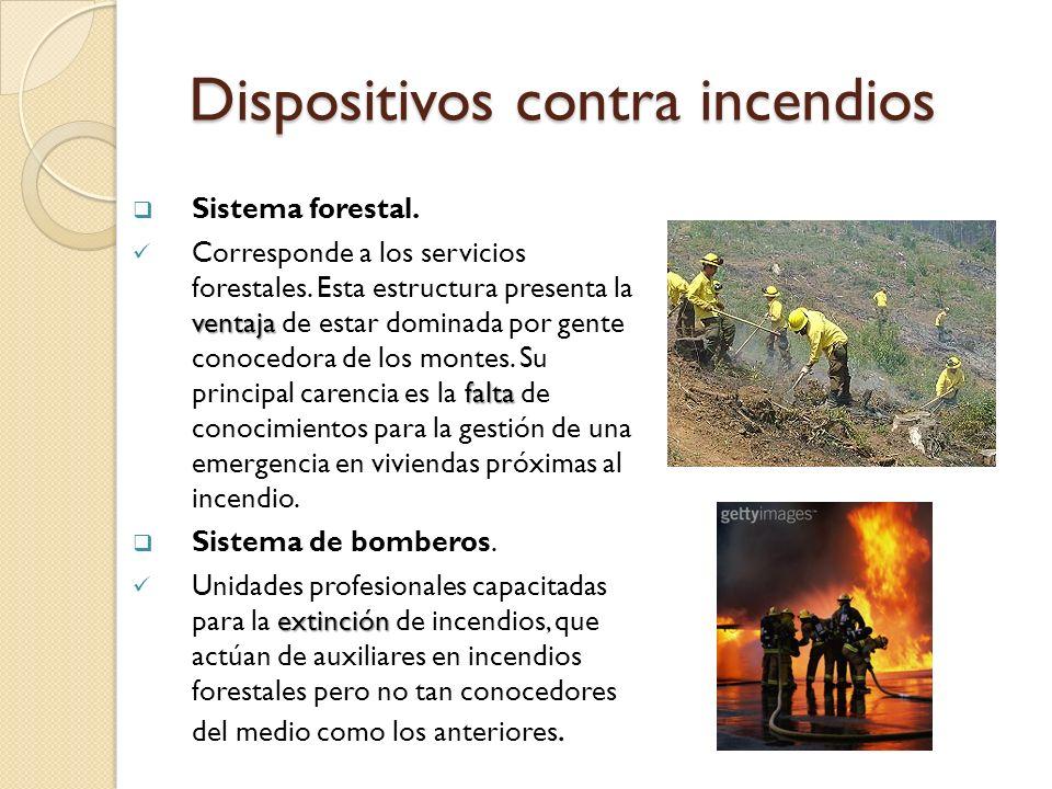 Dispositivos contra incendios