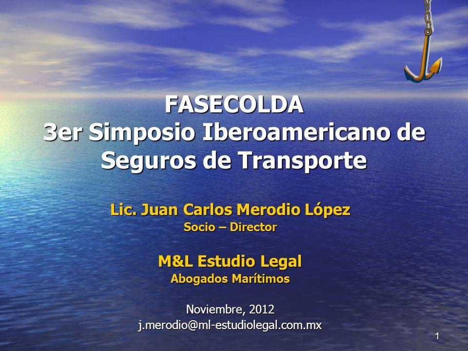 FASECOLDA 3er Simposio Iberoamericano de Seguros de Transporte