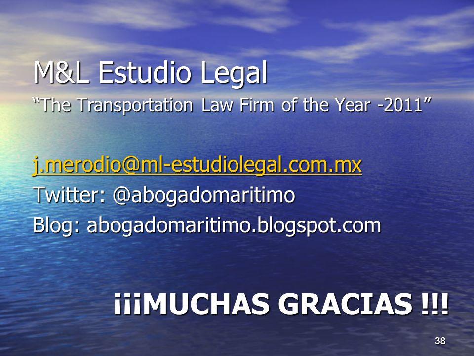 M&L Estudio Legal ¡¡¡MUCHAS GRACIAS !!!