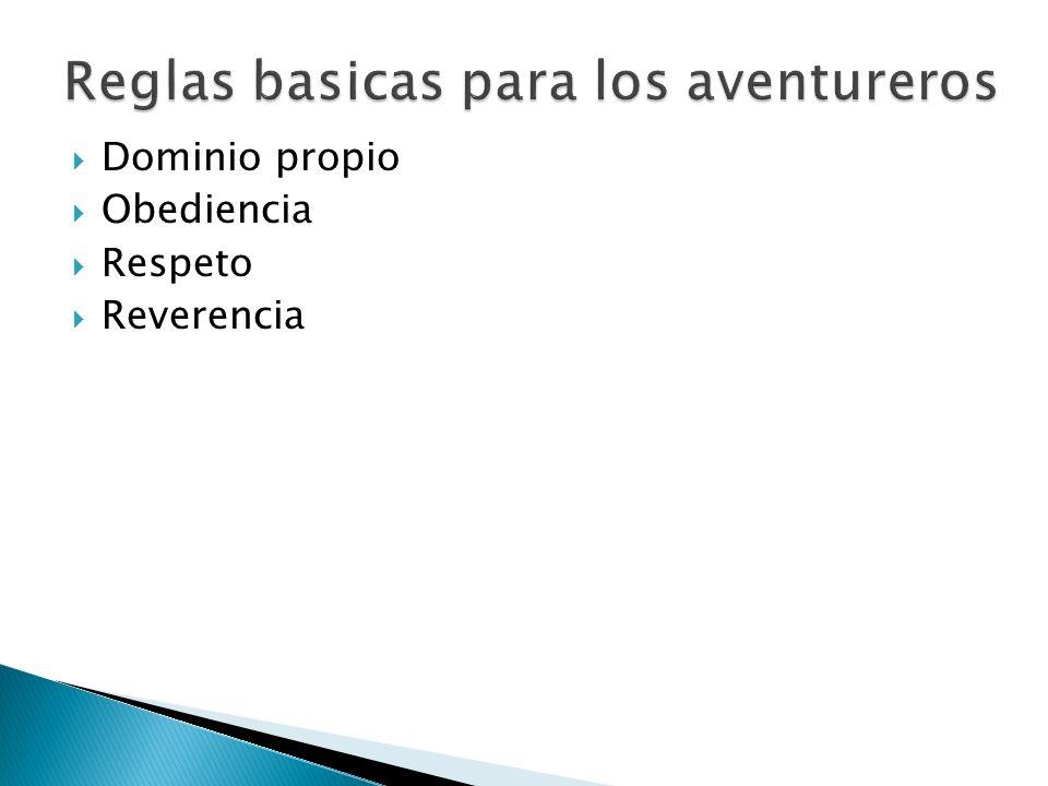 Reglas basicas para los aventureros