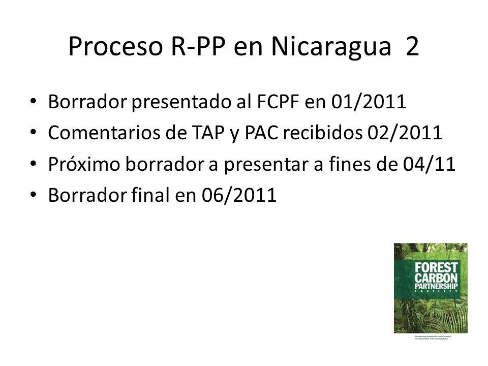 Proceso R-PP en Nicaragua 2
