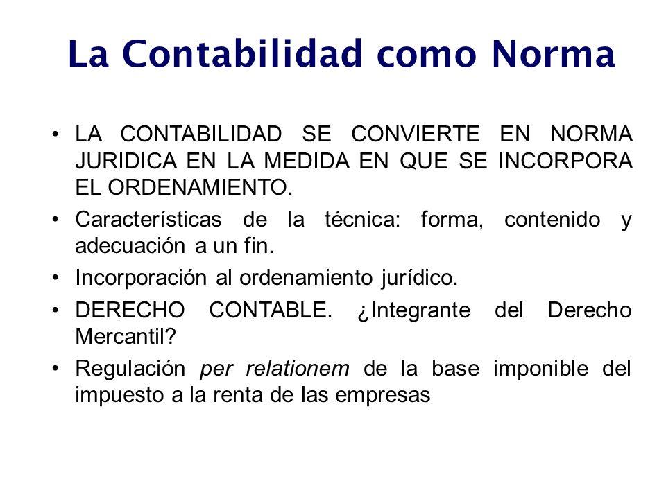 La Contabilidad como Norma
