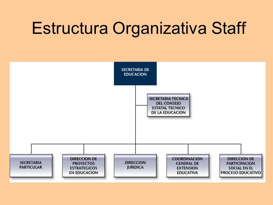 Estructura Organizativa Staff