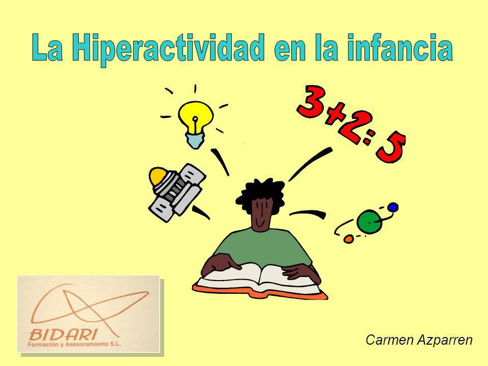 La Hiperactividad en la infancia