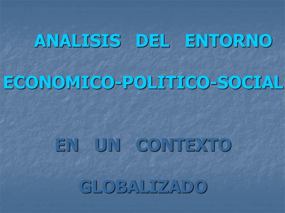 ECONOMICO-POLITICO-SOCIAL