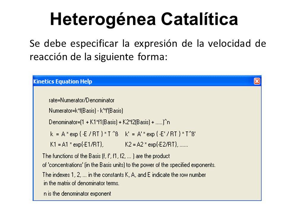 Heterogénea Catalítica