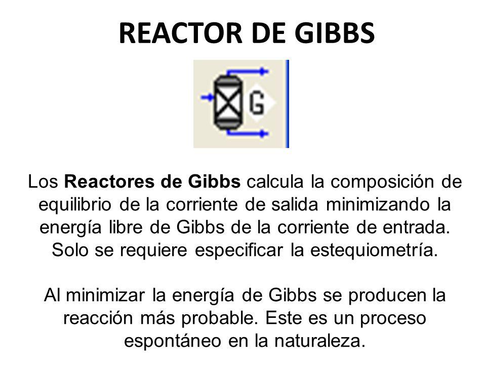 REACTOR DE GIBBS
