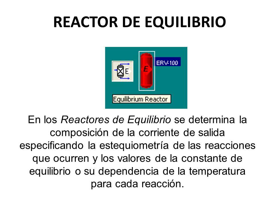 REACTOR DE EQUILIBRIO