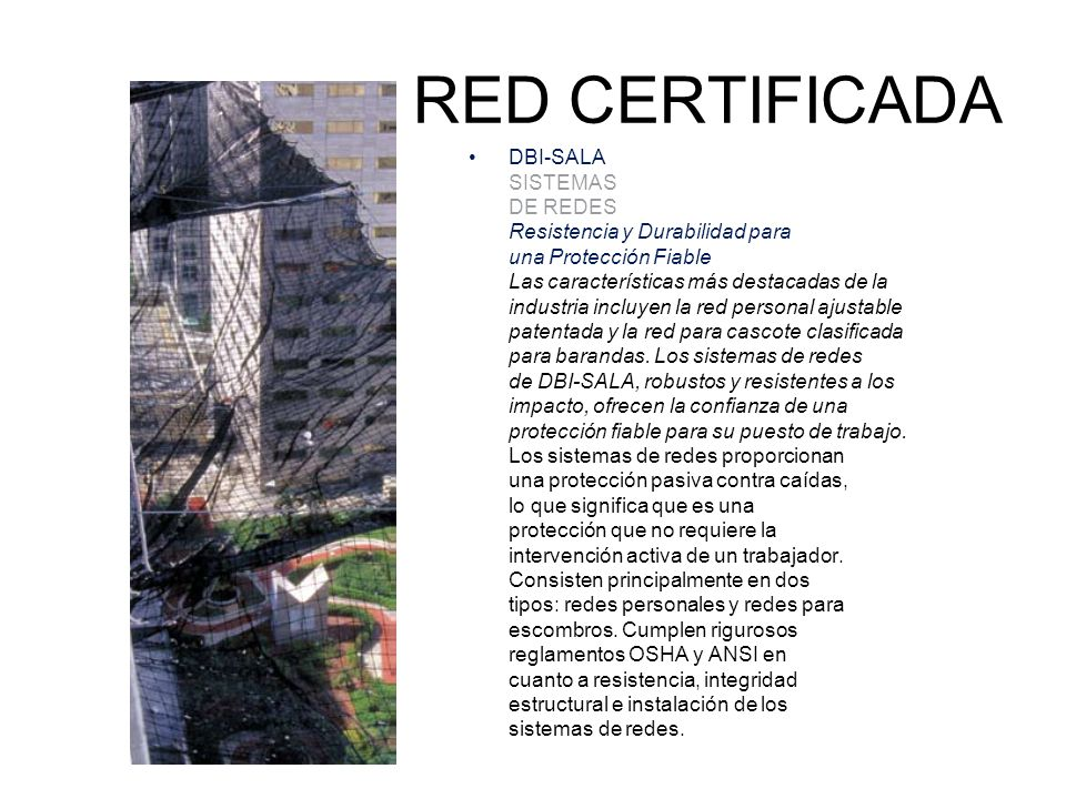 RED CERTIFICADA